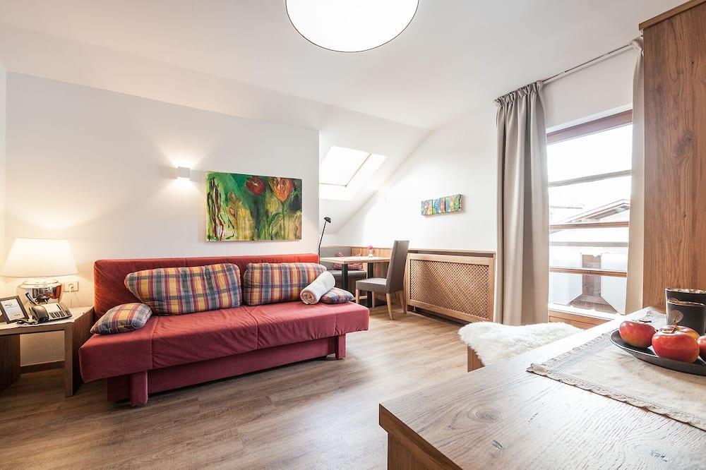 Apartment, 1 Bedroom, Balcony, Mountain View (Christina) - Living Area