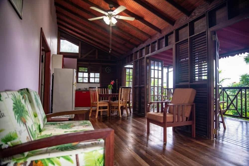 Cottage, 2 Bedrooms, Ocean View - Living Area