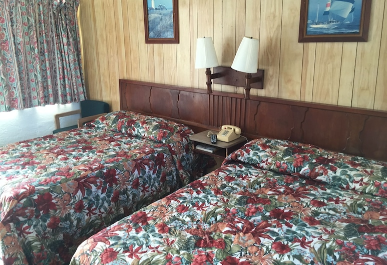 Ocean Holiday Motel, Daytona Beach, Double Room, Non Smoking, Refrigerator & Microwave, Guest Room