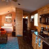 Cottage, 1 letto queen, idromassaggio - Area soggiorno