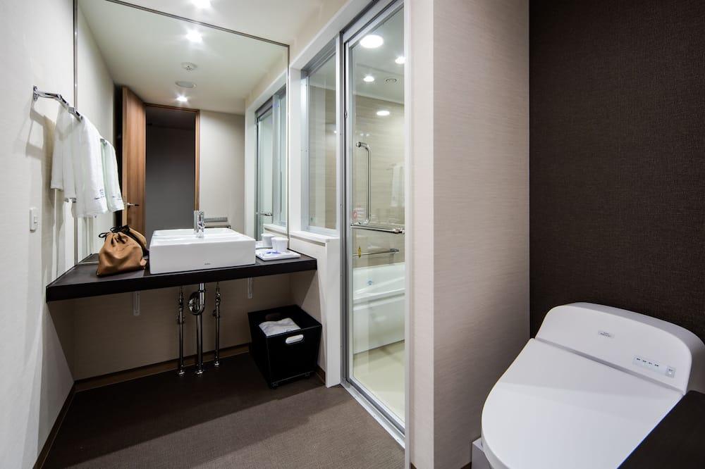 Superior-Doppelzimmer, 1 Queen-Bett, Raucher (Single Use) - Badezimmer