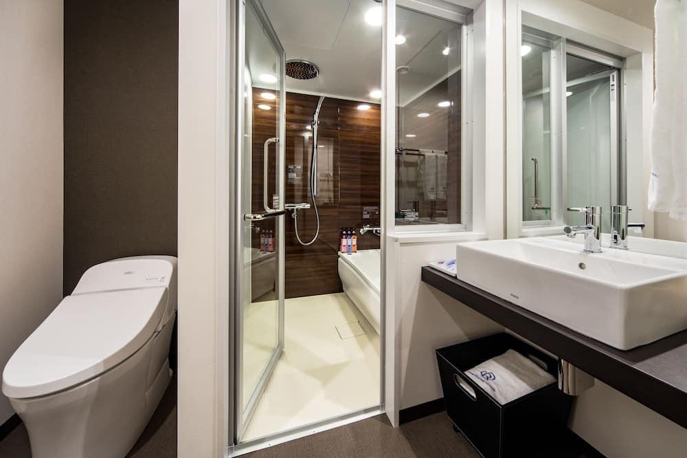 Doppelzimmer, Nichtraucher (Moderate, Single Use) - Badezimmer