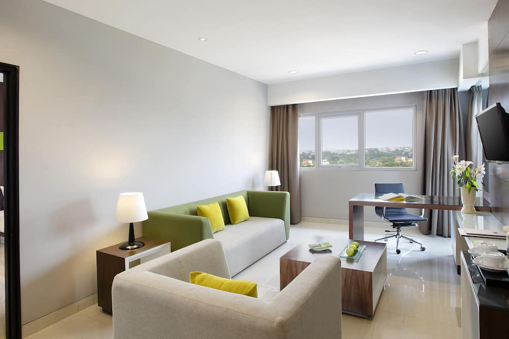 Executive Suite Room King - Sala de estar
