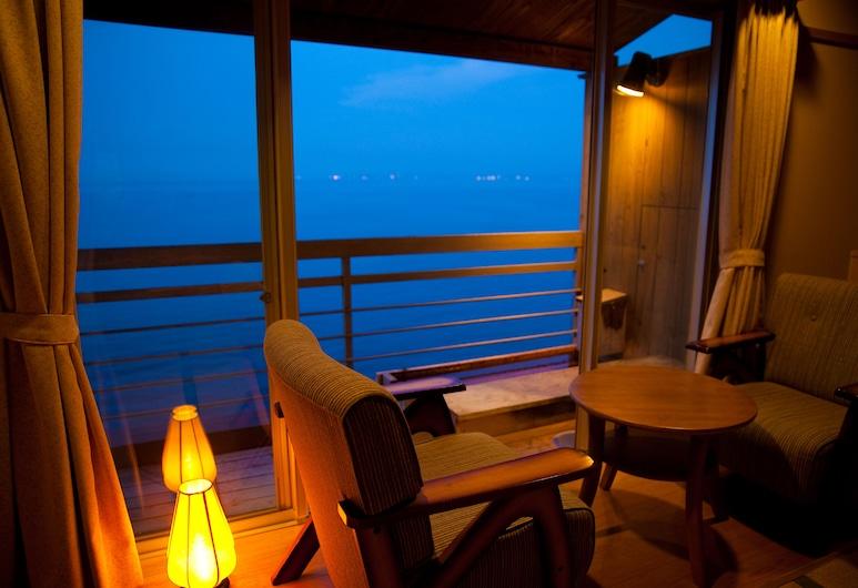 تينكو يوبو سيكايسو, بيبو, غرفة تقليدية - عدة أسرّة - بمنظر للمحيط (with Foot Bath), غرفة نزلاء