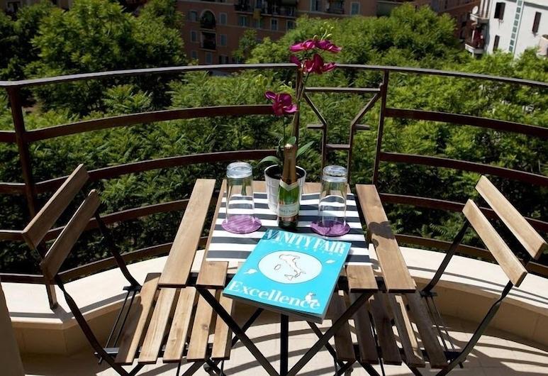 SMART HOLIDAYS ROMA B&B, Roma, Üç Kişilik Oda, Balkon