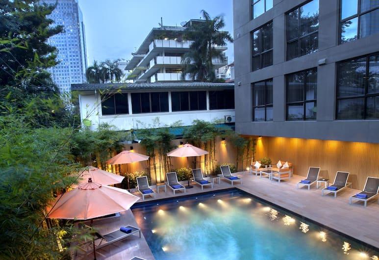 Galleria 12 Sukhumvit Bangkok by Compass Hospitality, Bangkok, Basen odkryty