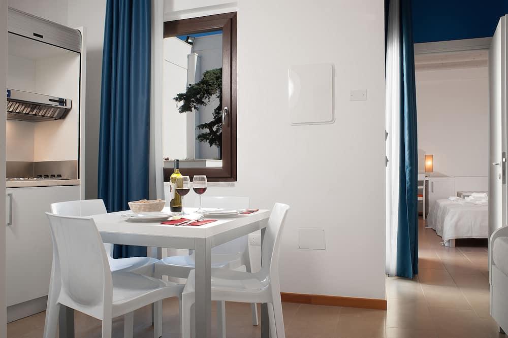 Appartamento, 1 camera da letto, Edificio separato - Pasti in camera