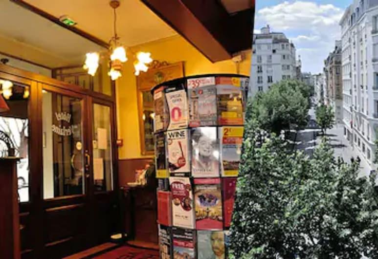 魏爾蘭酒店, 巴黎, 入口