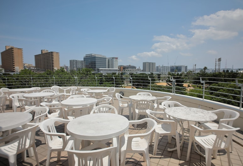 Okinawa International Youth Hostel, Naha, Terrace/Patio