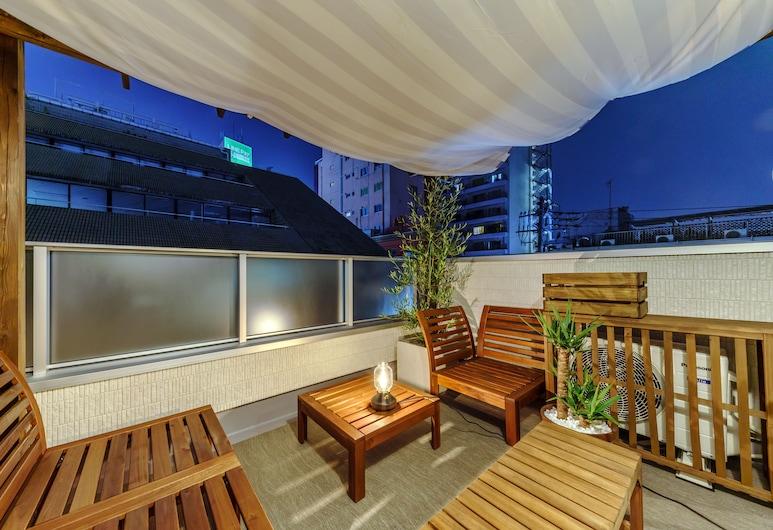 Tokyo House Inn, Tokyo, Design Duplex, Terrace, Terrace/Patio