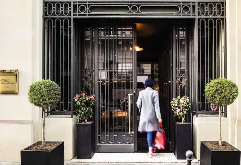 Hôtel Monsieur, Παρίσι, Πρόσοψη ξενοδοχείου