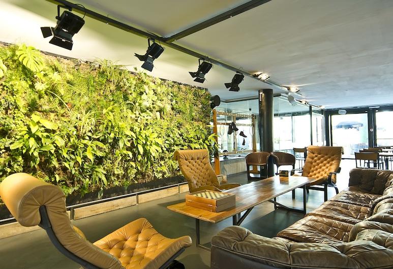 Auberge des 3 Fontaines, Bruxelles, Lounge della hall