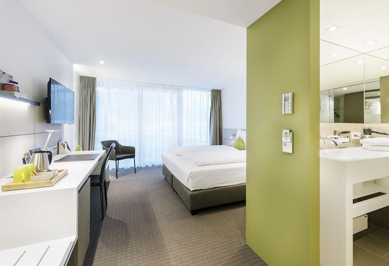 HGS3 Konzept-Hotel, Schelklingen, Comfort-rum - balkong (2), Gästrum