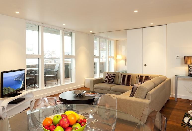 SACO 考文特花園公寓 - 聖馬丁, 倫敦, 高級公寓, 3 間臥室, 客廳
