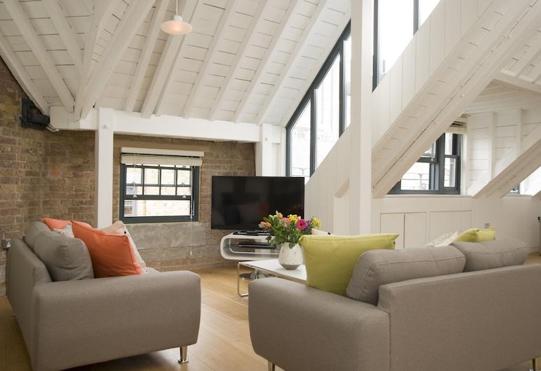 SACO 柯芬園埃內街飯店, 倫敦, 公寓, 3 間臥室, 客廳
