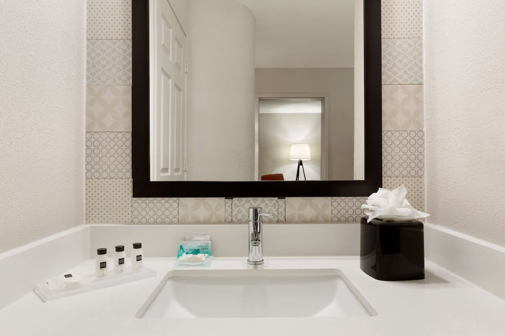 Suite, 1 King Bed, Accessible, Non Smoking (Rollin Shower) - Bathroom