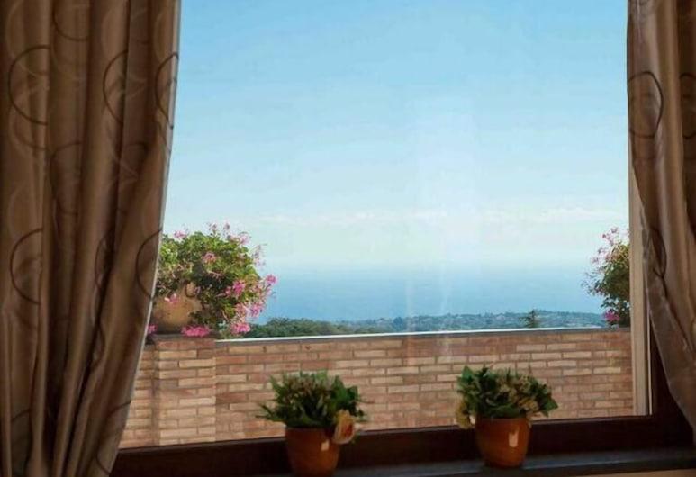 Etna Royal View, Trecastagni, Apartament, 1 sypialnia, kuchnia (Panoramic View), Salon