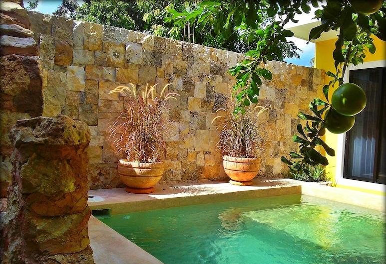 Casa Hipil, Valladolid, Açık Yüzme Havuzu