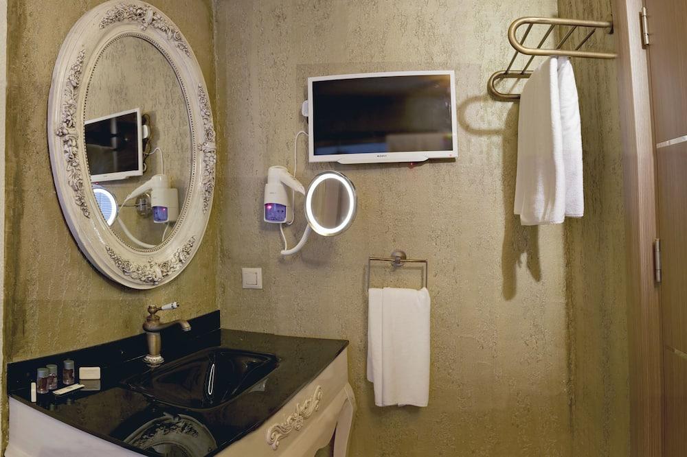 Suite, Meerblick - Badezimmer