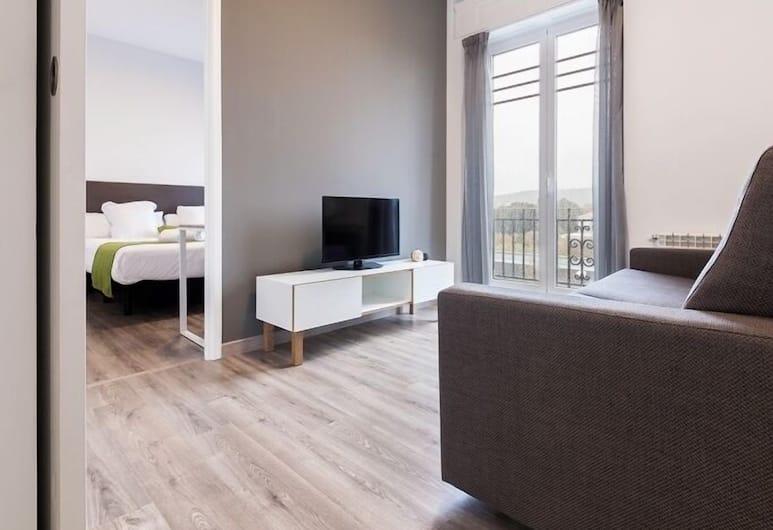 Apartamentos Lux Santiago, Santiago de Compostela, Apartment, 3 Bedrooms, Living Room