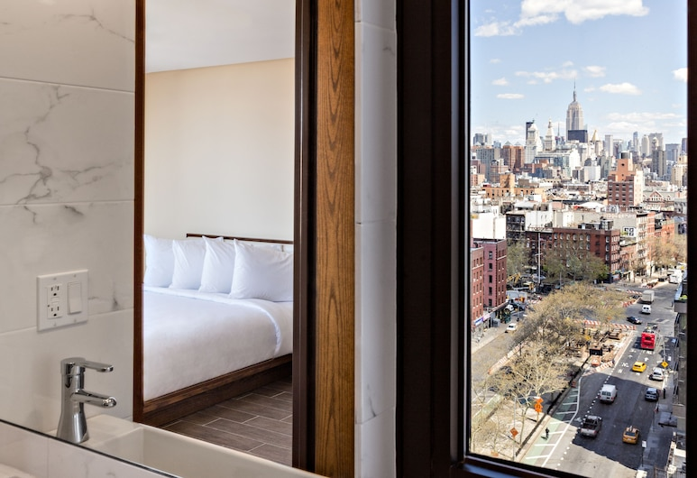 Orchard Street Hotel, New York, Premier Queen City View, Výhled z pokoje