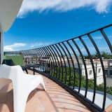 Luxury-Doppelzimmer, 1 Queen-Bett, Balkon, Meerseite - Balkon