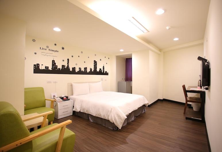 愛之屋民宿, 新北市, 豪華雙人房, 1 張標準雙人床, 客房