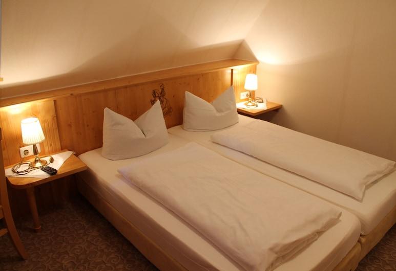 Hotel Zum Breiterle, Rothenburg ob der Tauber, Standard Double Room, 1 Double Bed, Guest Room