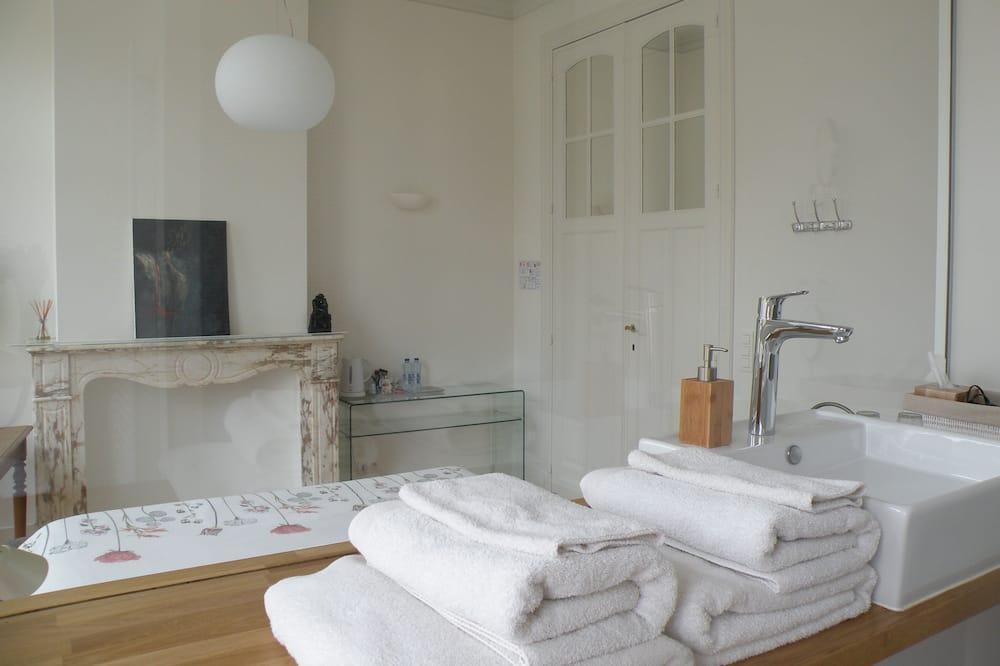 Luksus-dobbeltværelse - 1 soveværelse - Opholdsområde