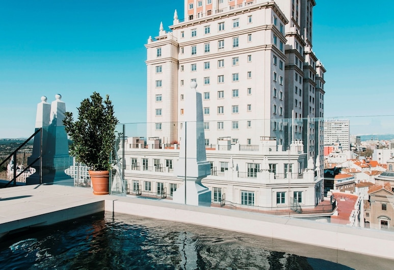 Dear Hotel Madrid, Madryt, Basen na dachu