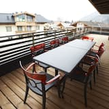 Penthouse, 3 Bedrooms, Sauna, Mountain View (Excl. 169 EUR cleaning fee) - Balcony