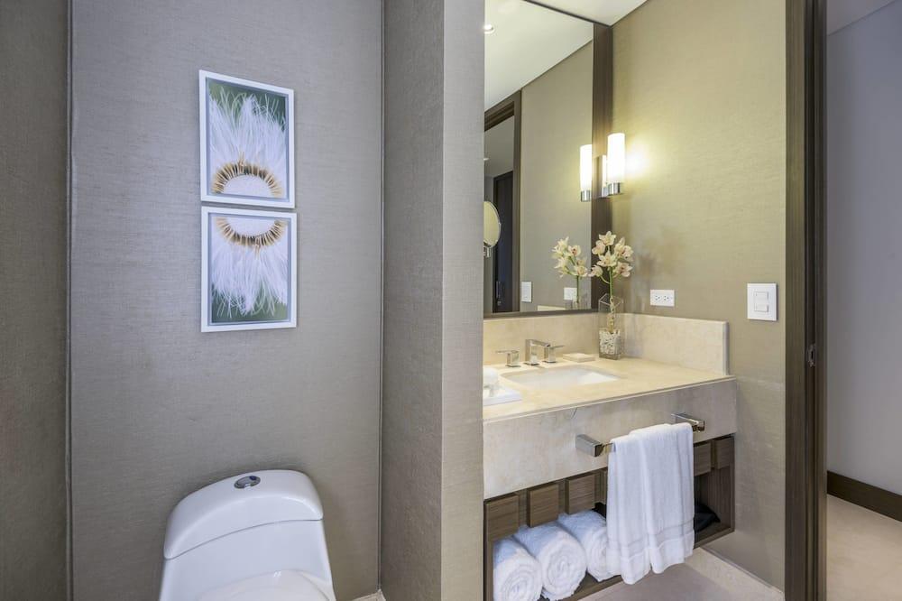Superior-huone, 2 yhden hengen sänkyä - Kylpyhuone
