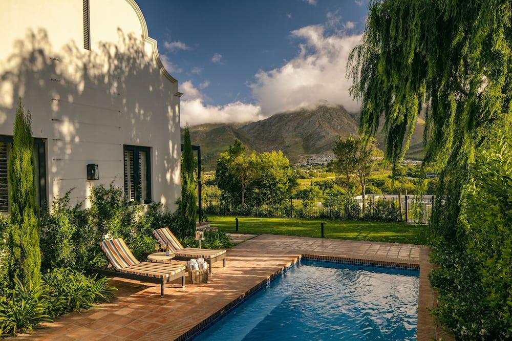 Fynbosch Cottage - Terrace/Patio