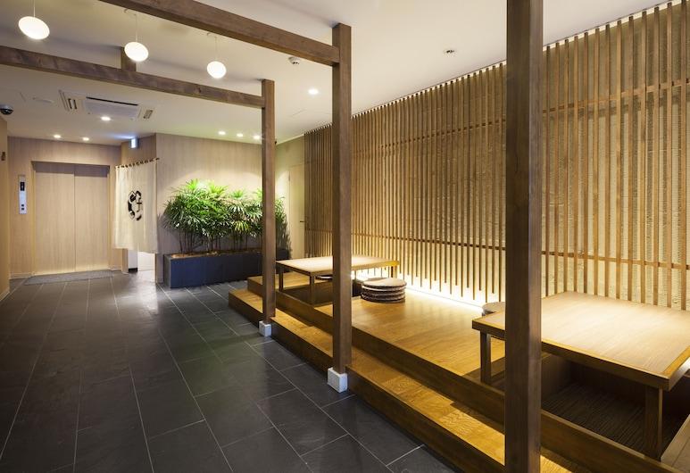 Tokyo Ginza Bay Hotel, Tókýó, Anddyri
