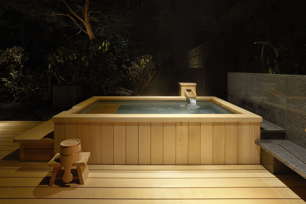 Japanese Suite  - Private open air bath - Outdoor Spa Tub