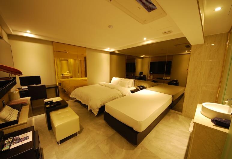 布堤飯店, 仁川, 標準雙床房, 客房
