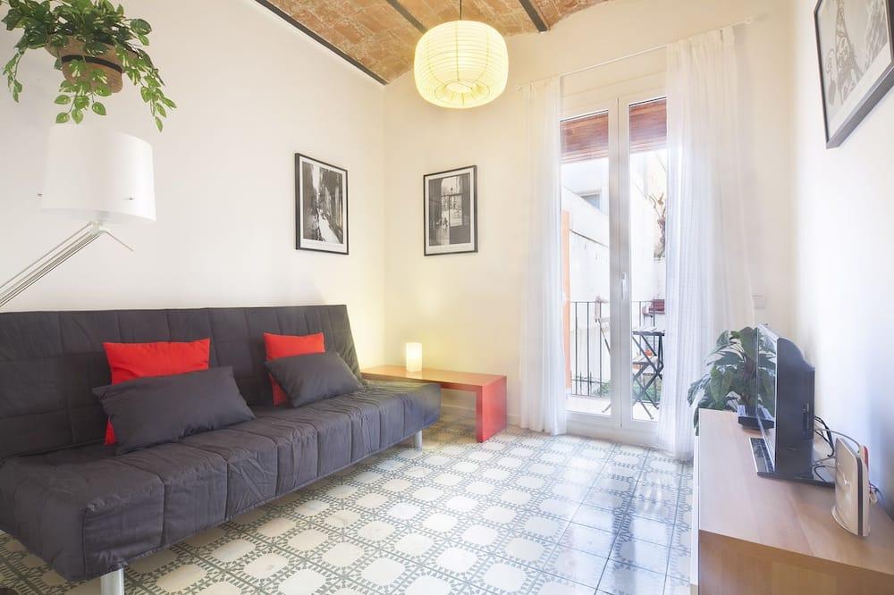 Улучшенные апартаменты, 2 спальни (C/Provença) - Зона гостиной