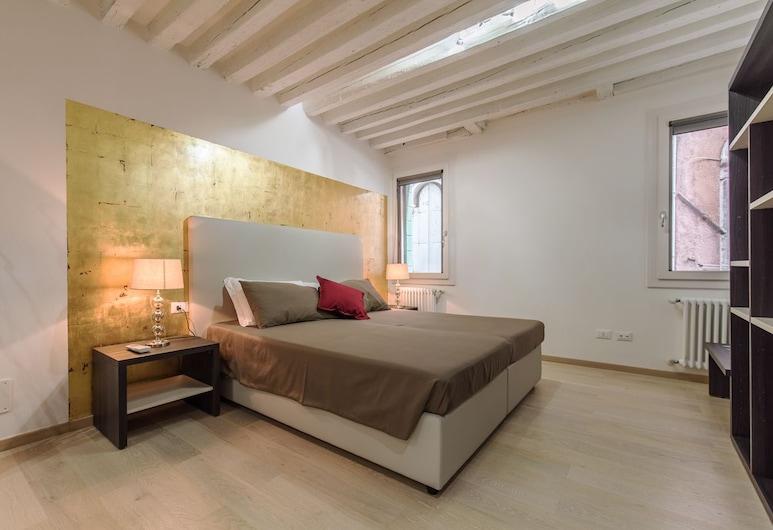 Ca' del Tentor, Venetsia, Deluxe - kahden hengen huone, Oma kylpyhuone, Vierashuone