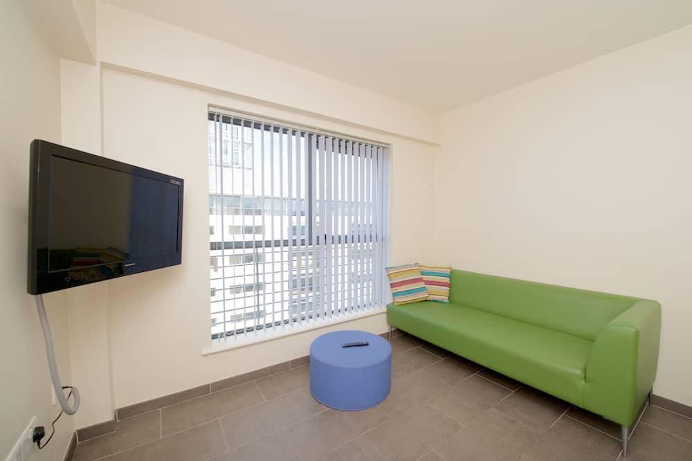 Apartamento, 3 habitaciones (small double beds) - Zona de estar