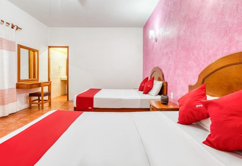 Hotel Mi Casa, Oaxaca, Standard-herbergi - 2 tvíbreið rúm, Herbergi