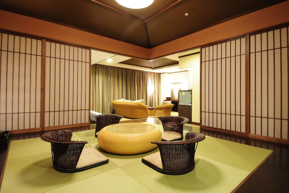 Traditionele suite - Woonruimte