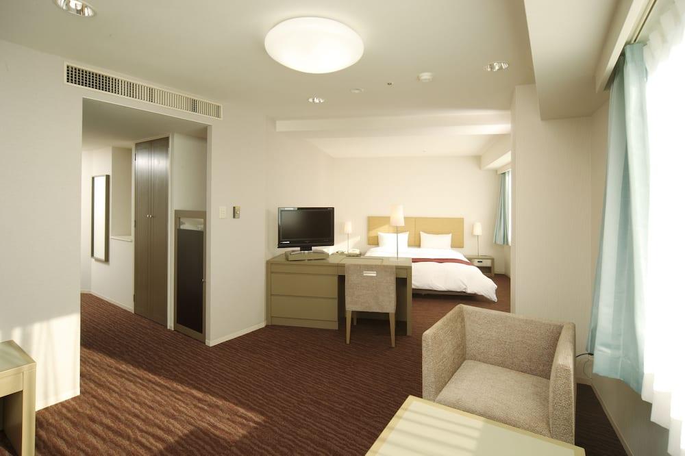 Double Room, Non Smoking (Ocean View) - Living Area