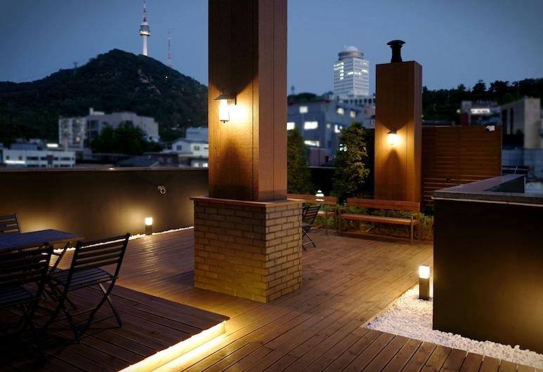 明洞盧米亞飯店, 首爾, 露台