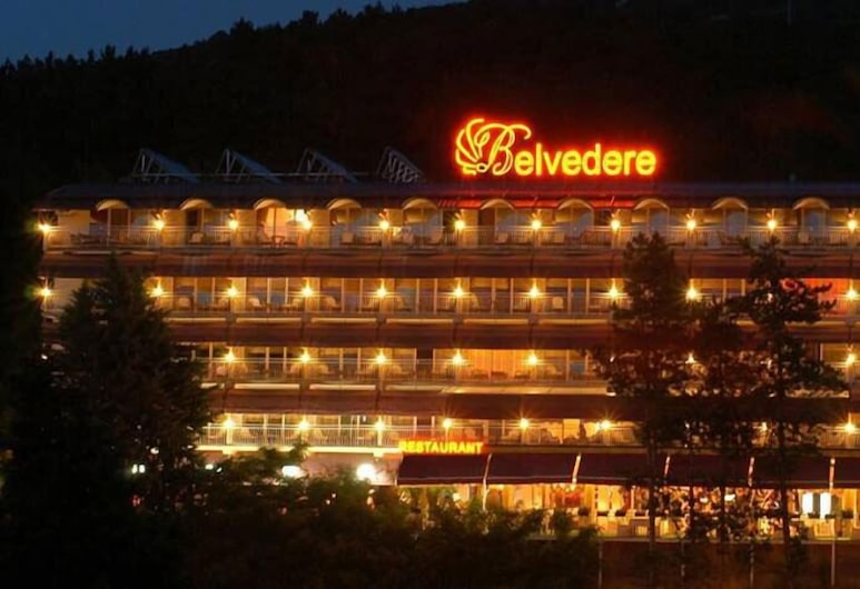 Hotel Belvedere, Ohrid, Otelin Önü