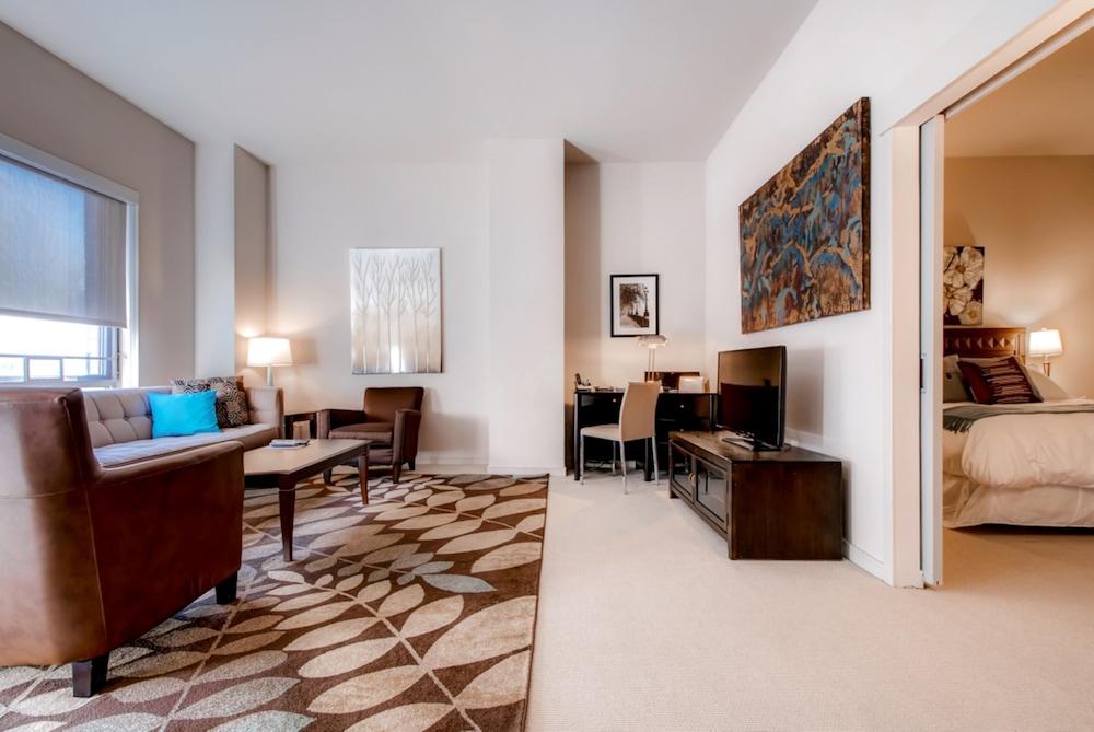 Global Luxury Suites At Bethesda Row, Bethesda, Luxury Apartment, 1  Bedroom, Courtyard