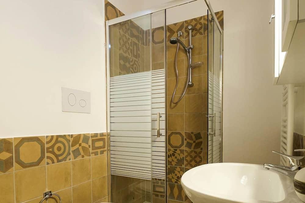 Apartemen Premium, teras, pemandangan kota - Kamar mandi