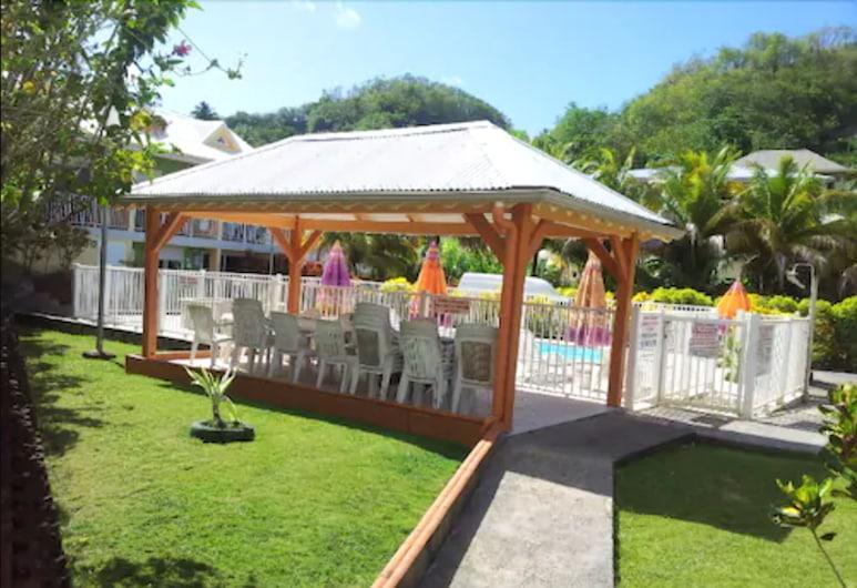 Residence Villa Bleu Marine, La Trinite, Hiên