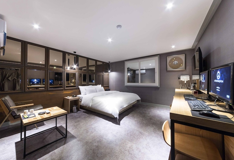 Hotel MARI, Incheon, Double or Twin Room, Multiple Beds, Guest Room
