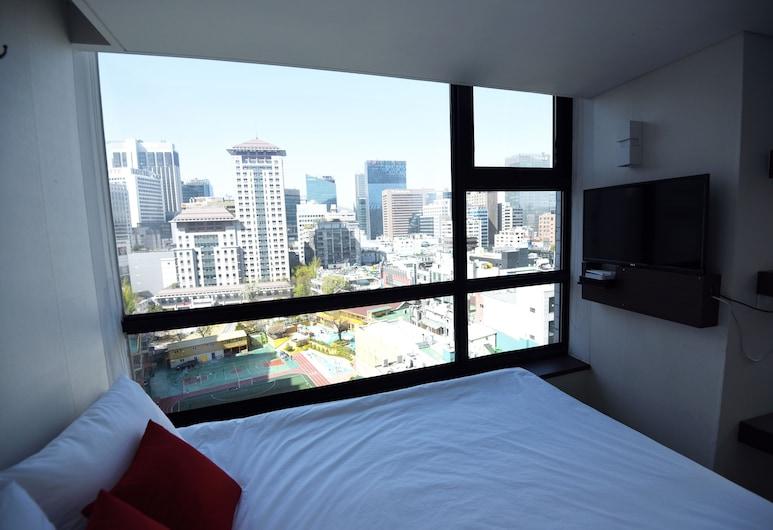57 Myeongdong Hostel, Σεούλ, Τρίκλινο Δωμάτιο, Θέα δωματίου