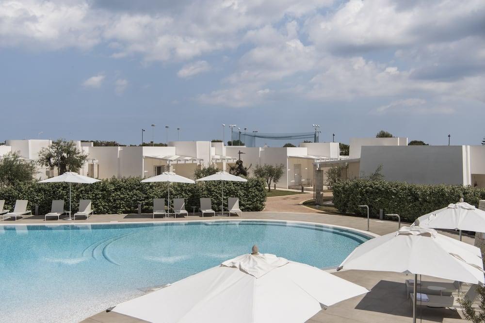 Pokój dwuosobowy z 1 lub 2 łóżkami typu Deluxe, 1 sypialnia, przy basenie - Basen odkryty